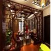古典客厅沙隔柜